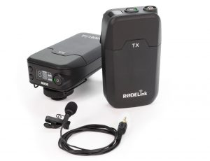 A simple wireless microphone.